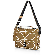 161038 - Orla Kiely Giant Linear Stem Satchel Bag