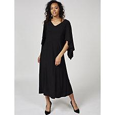 Antthony Designs Kimono Sleeve Maxi Dress
