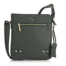171138 - Ashwood Leather Crossbody Bag with Adjustable Strap