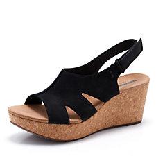 171838 - Clarks Annadel Bari Wedge Sandal Wide Fit