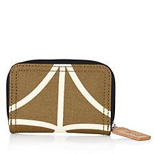 Orla Kiely Giant Linear Stem Medium Zip Wallet