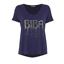 Biba Falling Sequin T-Shirt