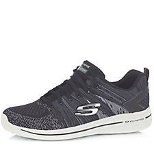 Skechers Burst 2.0 Abstract Print Lace Up Trainer with Air Cooled Memory Foam