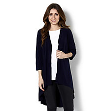 Dip Back Hem Cardigan by Michele Hope