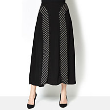 Antthony Designs Stripe Panel Skirt