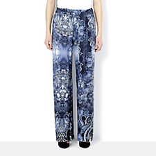 Attitudes by Renee Printed Jersey Trouser