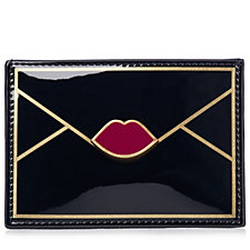 Lulu Guinness Contrast Lip Cardholder