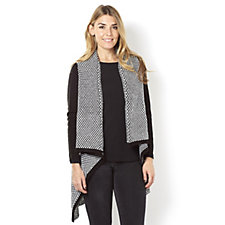 Knitwear by Etoile Edge to Edge Zip Detail Cardigan