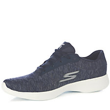 Skechers GOwalk 4 Serenity Heathered Lace Up Trainer