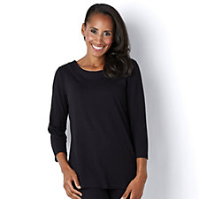 Mr Max Scoop Neck Jersey Top