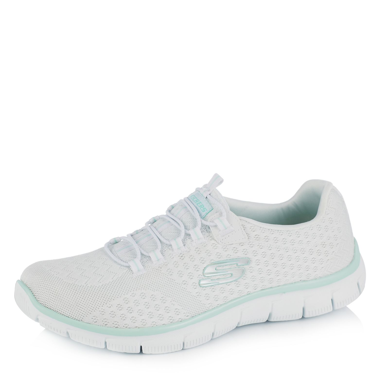 skechers white trainers