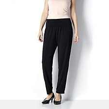 Cuffed Hem Trousers by Michele Hope