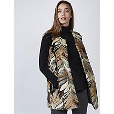Rino & Pelle Faux Textured Fur Gilet