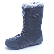 163642 - Skechers Lace Up Mid Calf Snowboot