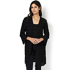 Andrew Yu Bell Sleeve Duster Jacket