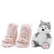 Aromahome Snuggable Hottie & Slipper Socks