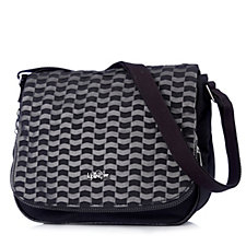 Kipling Earthbeat Premium Medium Woven Shoulder Bag with Crossbody Strap