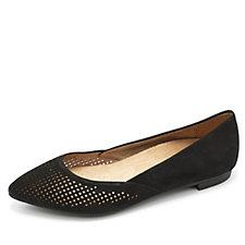 Vionic Orthotic Gem Posey Pointed Toe Flat Shoe w/ FMT Technology