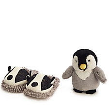 Aromahome Snuggable Hottie & Fuzzy Slippers