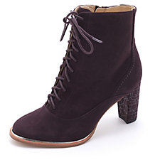 Clarks Ellis Ida Suede Lace Up Ankle Boot
