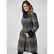 Joe Browns Sophisticated Check Coat