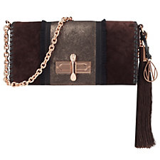 Amanda Wakeley The Baguette Costello Leather Shoulder Bag