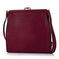 Lulu Guinness Smooth Leather Small Flora Crossbody Bag