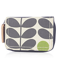 Orla Kiely Early Bird Medium Zip Wallet