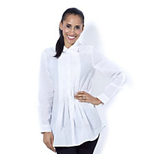 Fashion by Together Pintuck Detail Shirt