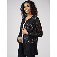 Crochet Lace Cover Up by Michele Hope