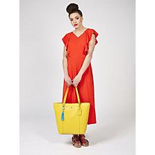 Ashwood Leather Unlined Shopper Bag
