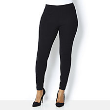 Women with Control Jersey Legging with Front Seam Detail
