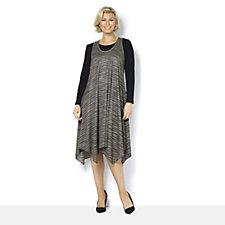 Yong Kim Knitted Light Weight Sleeveless Dress