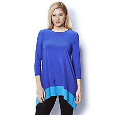Outlet Asymmetrical Hem Tunic by Nina Leonard