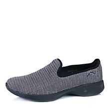Skechers GOwalk 4 Select Multi Coloured Knit Slip On Shoe with Memory Foam