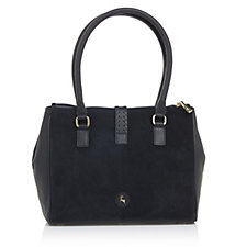 Ashwood Leather Tote Bag with Stitch Detail