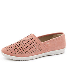 170045 - Earth Spirit Worcester Perforated Slip On Shoe