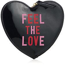 Lulu Guinness Feel The Love Heart Coin Purse