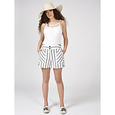 Phase Eight Imie Stripe Shorts