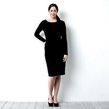 Kim & Co Long Sleeve Twist Front Dress