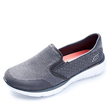 Skechers Equalizer Say Something Slip On Trainer with Memory Foam