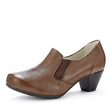 158846 - Vitaform Stretch & Lamb Nappa Slip On Heeled Shoe