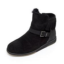 Emu Oxley Merino Wool Fringe Suede Boots