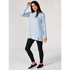 160246 - H By Halston Essentials Long Sleeve Crew Neck Top