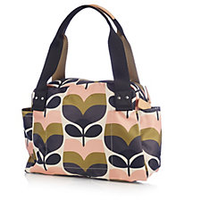 Orla Kiely Stripe Rosebud Zip Handbag