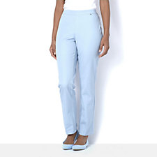 H by Halston 5 Pocket Studio Stretch Pull On Trousers Petite