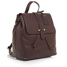 Ashwood Leather Backpack with Stitch Detail