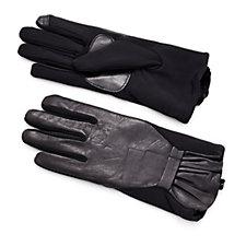 Echo Design Touch Superfit Ruffle Gloves