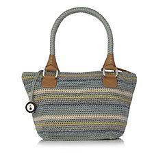 The Sak Classics Medium Crochet Satchel Bag