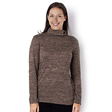 Kim & Co Cosy Knit Turtle Neck Long Sleeve Top